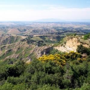 Landschaft bei Volterra