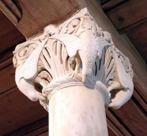 Säulenkapitell auf der Wartburg